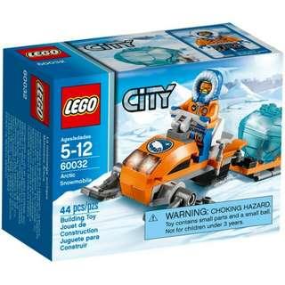 全新Lego 60032 Arctic Snowmobile