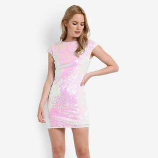 Zalora Premium Sequin Mermaid Dress