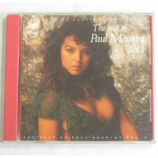 The Best Of Paul Mauriat Vol.1 1984 Polygram Records English CD 818 967-2 Silver Ring Made In Korea