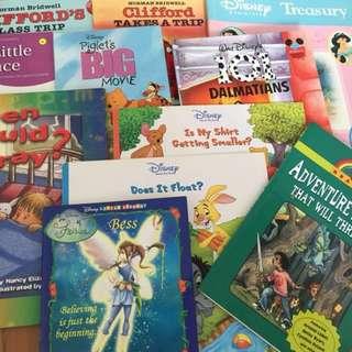 assorted children's storybooks