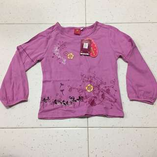 Long sleeve girls' top
