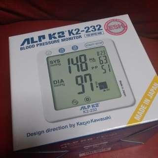 全新 ALPK2 K2-232血壓計