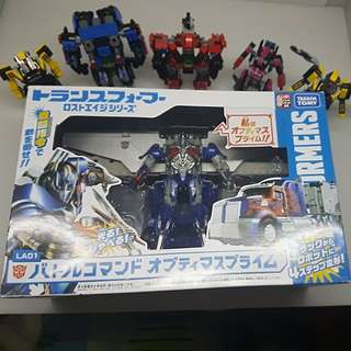 Takara Tomy Lost Age Battle Command Optimus Prime Age Of Extinction