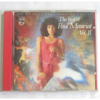 The Best Of Paul Mauriat Vol.2 1984 Polygram Records English CD 818 968-2 Silver Ring Made In Korea
