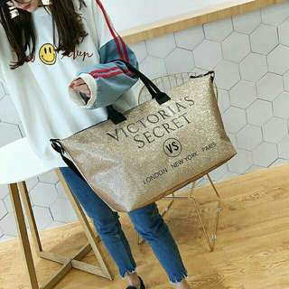 Victoria secret Gold Bag