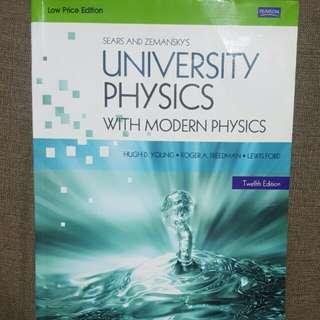 University Physics (12th edition)