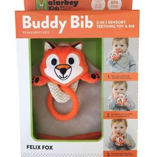 Munchmitt Buddy Bib Fox (in stock) special price