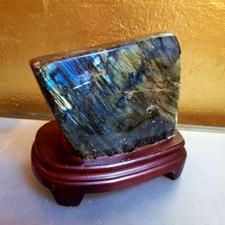 Labradorite  quartz