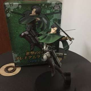 Sega Attack on Titan: Levi Premium Figure