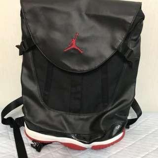 Air Jordan 11 retro BRED backpack AJ11 bag Nike Jordan XI🎒