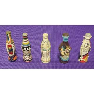 Decorative Miniature Coca Cola bottles at $6  per bottle