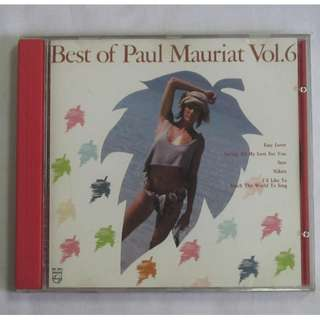 Best Of Paul Mauriat Vol.6 1988 Polygram Records English CD 834 766-2 Silver Ring