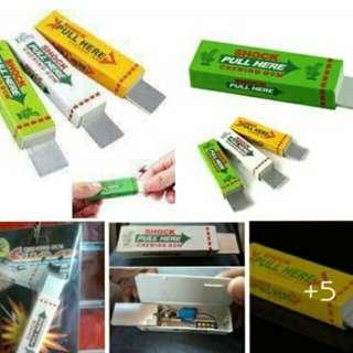 Cheawing gum prank