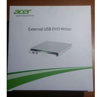 ACER External USB DVD Writer (New in Sealed Box)