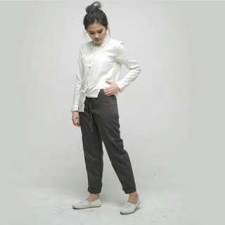 Giyomi Palasso Pants Dark Grey