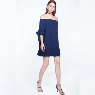 Fayth melrose off shoulder dress