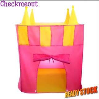 🔥FREE POS🔥Children Castle Play Tent