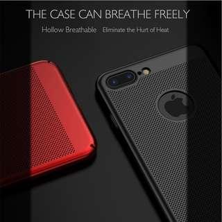 Slim Breathe Case cover Heat Dissipation iPhone  5 5s SE 6 6s 7 Plus