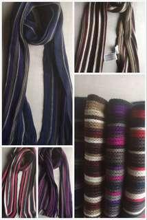 預售款 包郵㊣兒童保暖針織頸巾 顏色隨機 $60/件