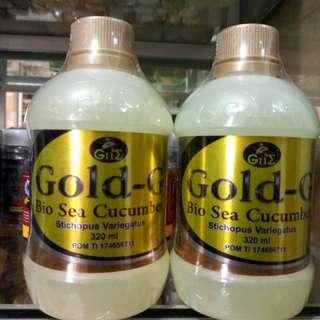 GOLD-G BIO SEA CUCUMBER 320ML ORIGINAL