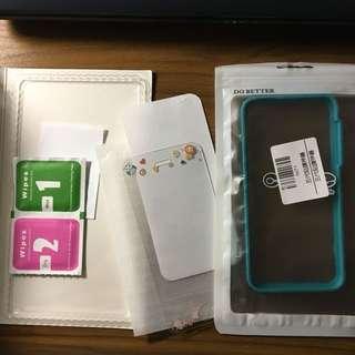 iPhone 5 / 5s / SE 卡通鋼化貼膜連貼膜神器