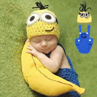 Little Minion Baby Shooting Costume