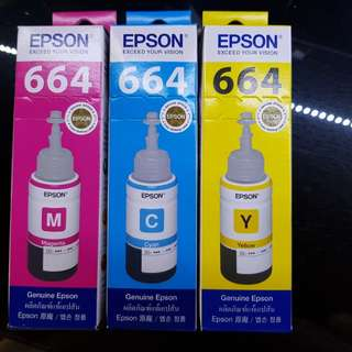 Epson Ink Replacements for Inktank system