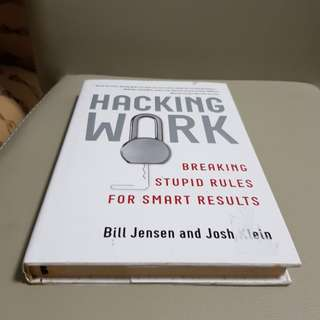 Book - hacking work