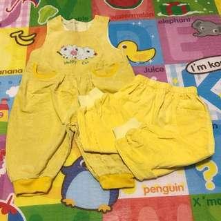 吊帶褲+長褲