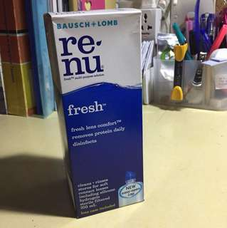 Renu Contact Lens Solution