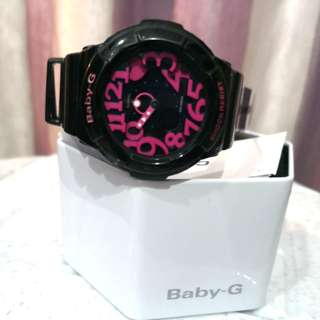 Baby G Watch-Black Pink