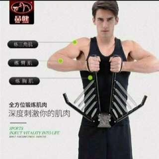 健身器材家用拉力器訓練胸肌臂肌 (升級款) (健身系列) (包Buyup自取站取貨) (Gym Chest Arm Biceps) (#rep#)