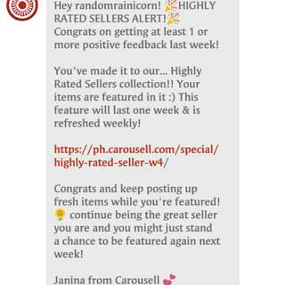 2nd • HIGHLY RATED SELLER
