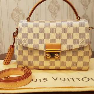 NBU 2016 LV Croisette Azur Comes With Strap And Dust Bag-a3