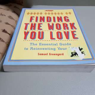 Book - finding work you love