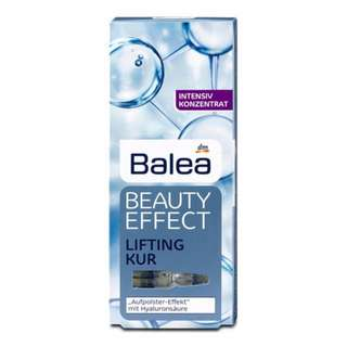 Germany Balea Beauty Effect Lifting Kur Treatment Ampoules With Hyaluronic Acid 7x1 ml