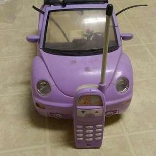 Barbie RC Car