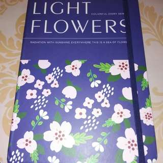 Light Flower Notebook
