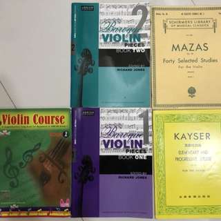 Violin books for beginners