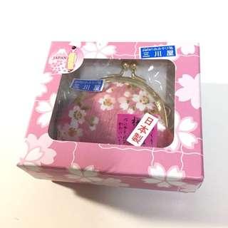 日本製粉紅色小錢包