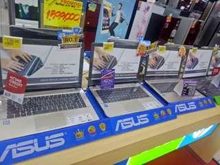 Kredit laptop berbagai merk free 1x angsuran proses 30 menit