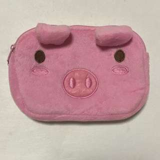 Pink Q Pig Pouch