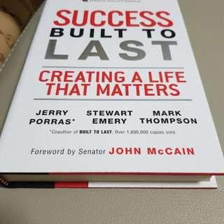 Book - success built to last