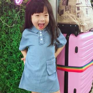 Korean kids dress