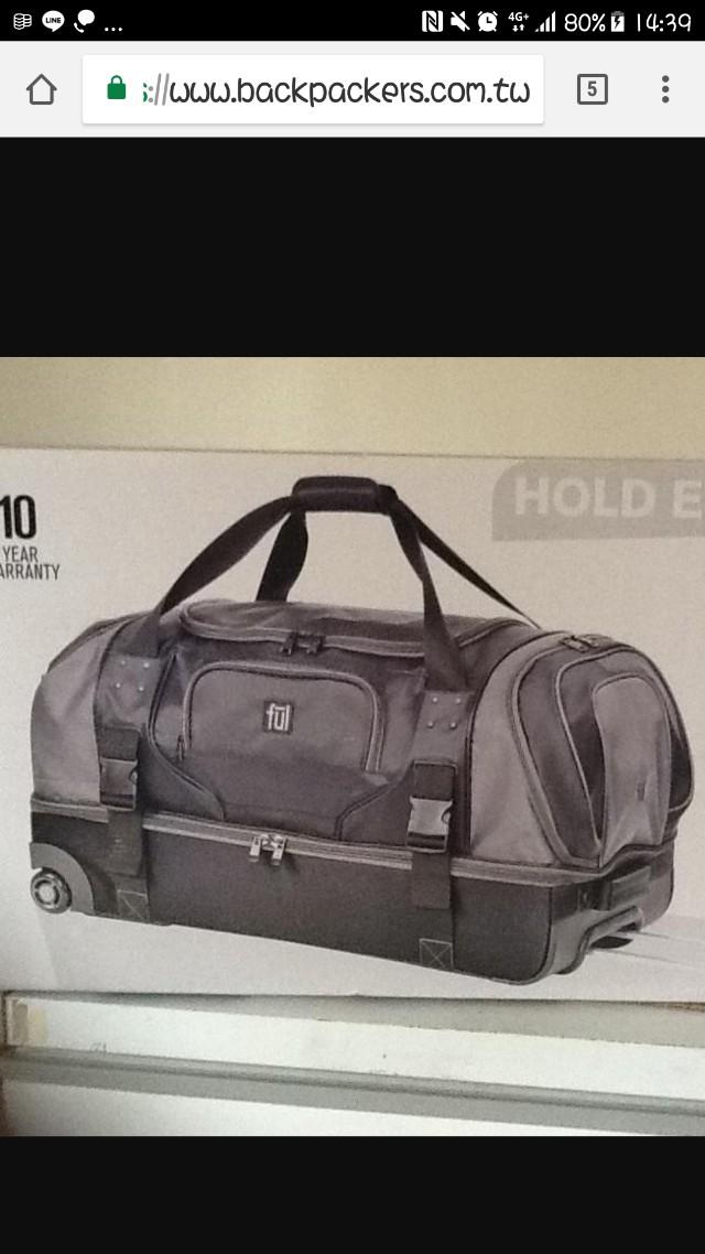 軟布二用30吋行李箱