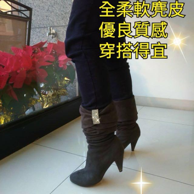 靴👢可長短穿塔約35碼22號小腳