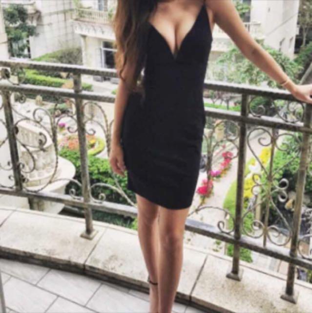 歐美風格魚骨洋裝