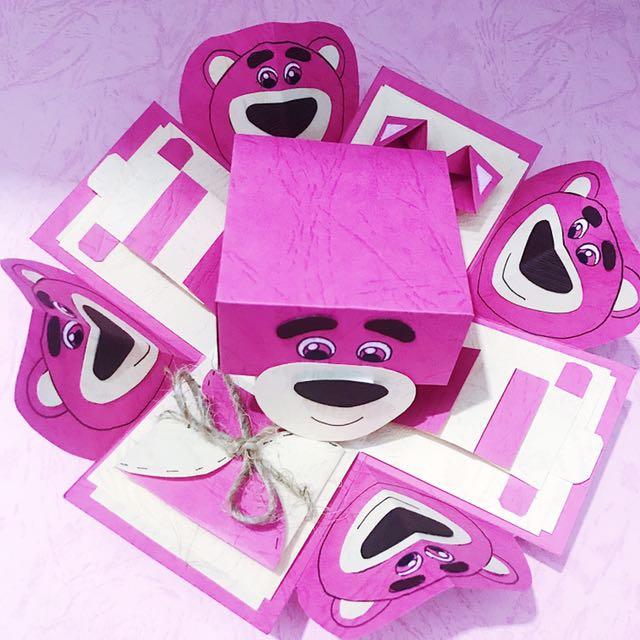 現貨💝💝💝 熊抱哥簡易禮物盒