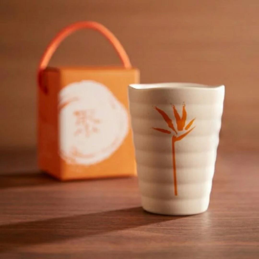 日式禪風杯 和風天堂鳥杯