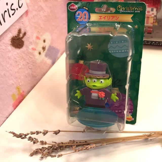 全新迪士尼日本一番賞絕版三眼怪聖誕系列 全家限定限量 吊飾 皮克斯玩具總動員公仔 模型Disney